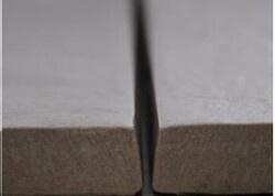 Gerectificeerde, niet-gerectificeerde tegels